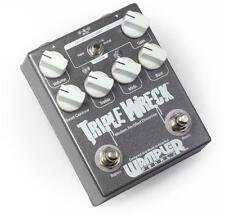 Wampler Triple Wreck Distortion Fuzz Guitar Effect Pedal New