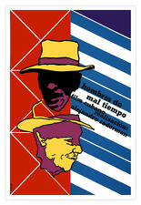 "Cuban decor Graphic Design movie Poster 4 film""Men of Hard TIME""Hat.Art Film"