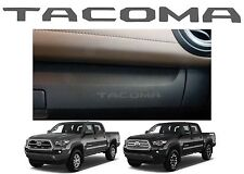 Magnetic Gray Glove Box VINYL Dashboard Letters Inserts 2016-2017 Toyota Tacoma