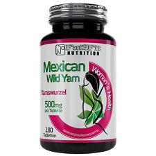 WILD YAM 180 Tabletten je 500mg für Frauen 40+ / Yamswurzel