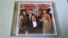 "TONY BENNETT PLACIDO DOMINGO VANESSA WILLIAM ""OUT FAVORITE THINGS A"" CD 20 TRACK"