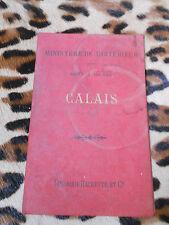 Carte 1/100.000 - CALAIS - Hachette, 1894