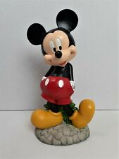 "Disney Mickey Mouse Garden Statue Indoor/Outdoor 10"" Lawn Ornament *202"
