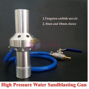 High Pressure Sandblasting Gun Water Sandblasters Sand Blasting Spray Gun