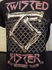 Vintage 84 Twisted Sister Stay Hungry Tour Shirt Sz M/L Sex Rock Glam Metal Dio
