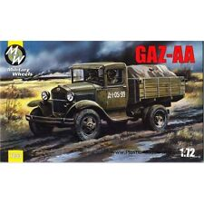 Military Wheels 7233 Soviet Light truck GAZ-AA WWII plastic model kit 1/72 scale