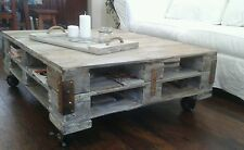 Gorgeous Industrial Chic Coffee Table
