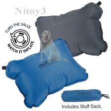Multimat Camper Pillow - Self-Inflating Foam/Air Combo