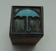 Printing Letterpress Printers Block Umbrella