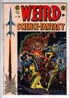 WEIRD SCIENCE-FANTASY #27 1955 Adam Link I ROBOT Series begins Wally Wood cover