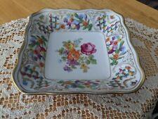 "Vintage Schumann Bavaria Germany ""Dresden Flowers"""