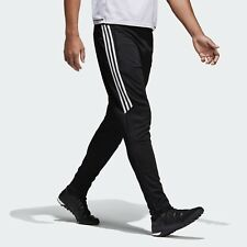 ADIDAS Tiro Nuovo di Zecca 17 Nero Bianco Training Pants Pantaloni Pantaloni sportivi Taglia Small