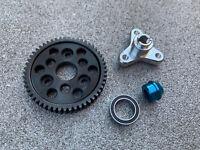 Slipper Clutch Eliminator / Bearing Adapter & 52T Spur Gear Traxxas Slash 4x4