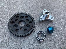 Slipper Clutch Eliminator / Bearing Adapter & 54T Spur Gear Traxxas Slash 4x4