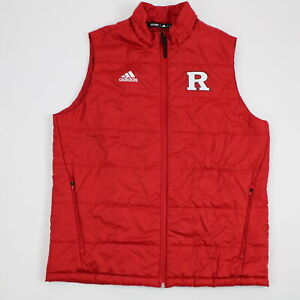 Rutgers Scarlet Knights adidas Jacket Men's Red Used