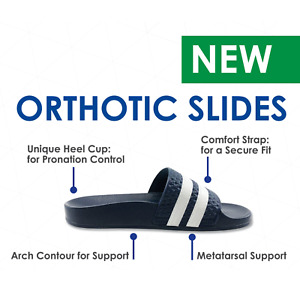 ICB Orthotic Slides | Arch Support Slides | Physio Recommended | Free Postage