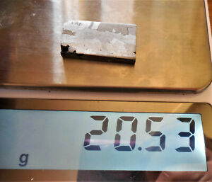 20.53  gram CANYON DIABLO IRON METEORITE ETCHED - Meteor Crater