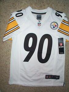 *IRREGULAR* Pittsburgh Steelers TJ WATT nfl NIKE Jersey YOUTH KIDS BOYS (s-small