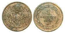 pci0194) Stato Pontificio 1 Baiocco  1850 R Pio IX Ann V