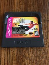Dragon the Bruce Lee Story Sega Game Gear Cartridge