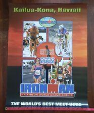 New listing Ironman Poster KAILUA KONA HAWAII 2002