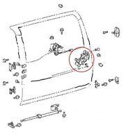 69110-35070 TOYOTA GENUINE BACK DOOR LOCK ASSEMBLY for FJ CRUISER 2006-2014