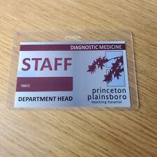 House TV Show ID Badge-Dr. House Department Head prop costume cosplay