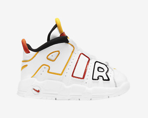 Nike Air More Uptempo Roswell Rayguns White Orange Red Infant Toddler Pippen