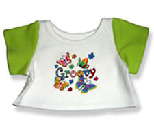 Adorable Groovy Teeshirt Fits Most 14 to 18 inch Build A Bear and Make Your Own