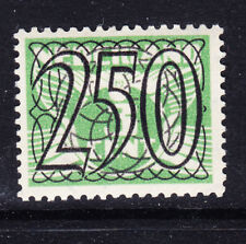 NETHERLANDS 1940 Surcharge SG538 250 on 3c green - unmounted mint. Cat £65