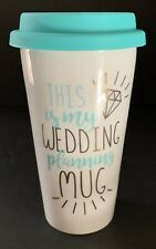 This Is My Wedding Planning Mug Coffee Mug With Lid Bride To Be Engagement Gift
