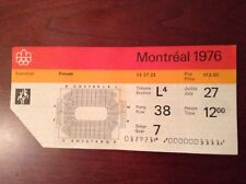 "1976 Olympics ticket ""Basketball"""