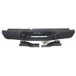 New Black Value Rear Step Bumper Assembly for Isuzu Fleetside Model 190-01804B