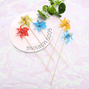 Mini Windmill Wind Spinner Garden Beach Party Bag Fillers Wedding Favours KiND