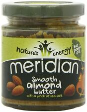Meridian 100% Natural Smooth Almond Butter With A Pinch of Salt