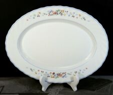 """ARCOPAL France VICTORIA  Oval Platter, 13 1/2""""  EXC +"""
