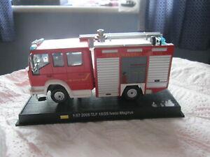 Fire Brigade Model 1:57 2005 TLF 16/25 Iveco Magirus fire truck engine