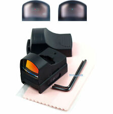 Hunting Micro Reflex Dual Red Green Dot Sight Scope with Picatinny Weaver Rail 鱼