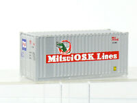 Walthers 20ft. Container  Mitsui OSK Lines   H0 1/87