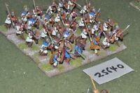 25mm roman era / roman - auxiliaries 30 figures - inf (25640)