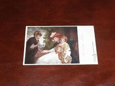 ORIGINAL TUCK LIMITED EDITION NOVELTY POSTCARD - OLDE PRINT, THE FORTUNE TELLER.
