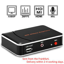 HDMI Video Game Capture Card 1080P HD Recorder Save to USB Disk for PS4,XBox One