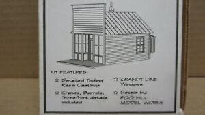 Design Tech Models DT-105-S Murphy's General Store S/Sn3 Kit RARE OOP