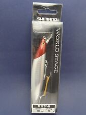Shimano World Stage Red Head Fishing Lure M123F 123mm 15g