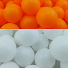 New Assorted Color Plastic Table Tennis Colorful Ping Pong Balls ESCA