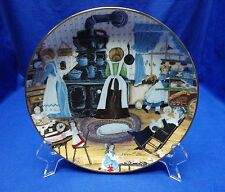 """Franklin Mint """" Home Made Sweets """" Collector Plate By: Karyn Bell with Coa"""