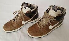 Mens Sz 9.5 Multicolor Nike Dunk High Premium BFIVE Leather Shoes 314877-211