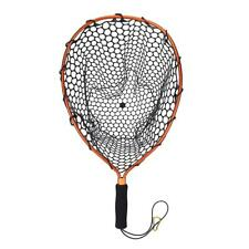 Aluminum Pole Retractable Telescoping Foldable Landing Rubber Net fr Fly Fishing