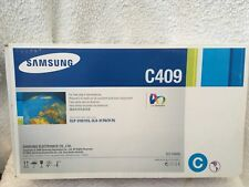 Samsung C409S Cyan Toner Cartridge CLT-C409S Genuine New Sealed Box