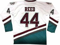 Men's Hockey Jersey #44 Reed The Mighty Ducks Ice Hockey Jerseys S-3XL